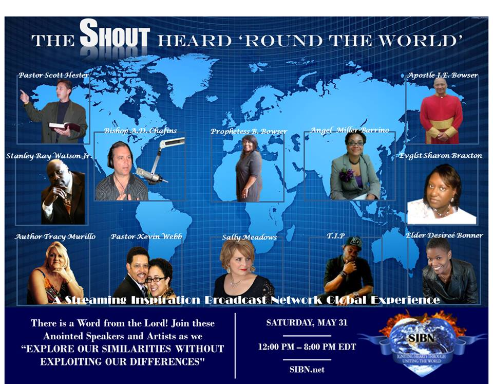 flyer for the shout