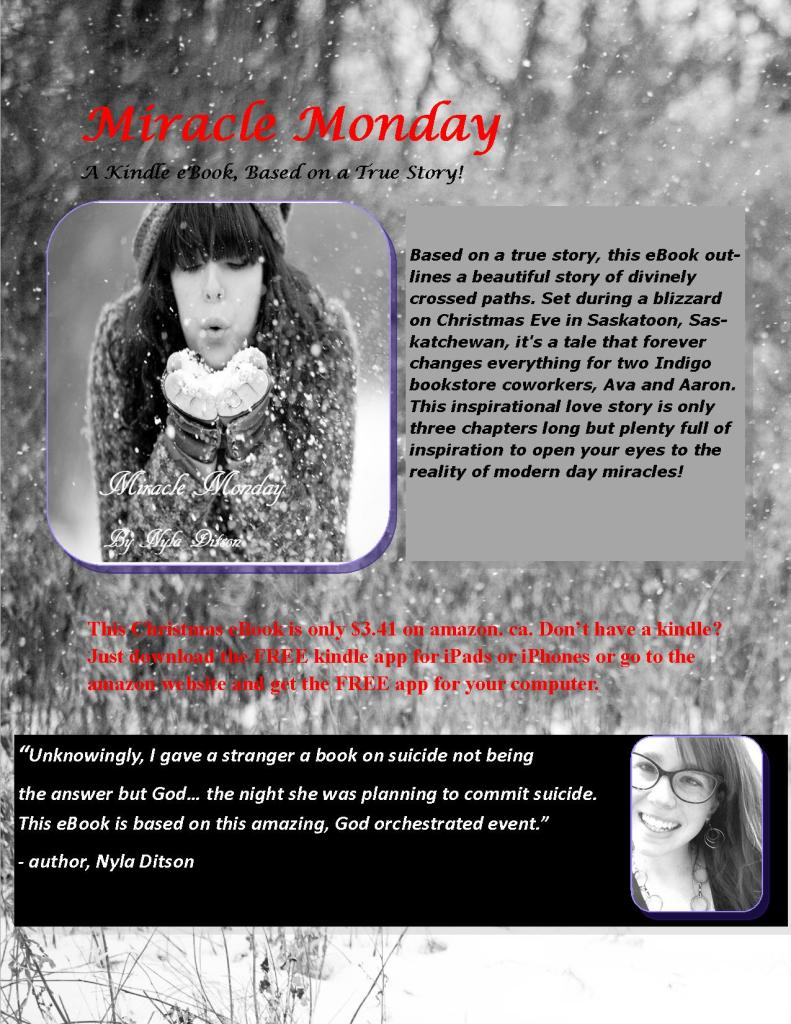 Miracle Monday eBook Flyer Nyla Ditson 2014